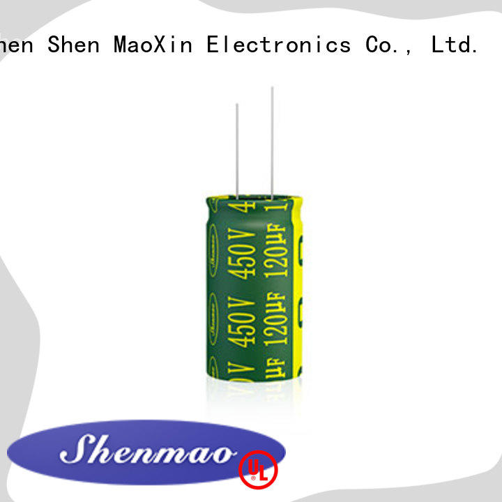 Shenmao satety Radial Aluminum Electrolytic Capacitor vendor for filter