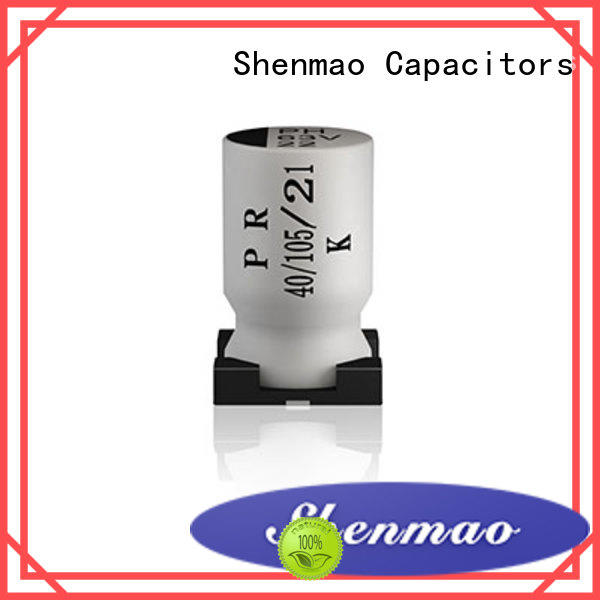 Shenmao competitive price smd electrolytic bulk production for temperature compensation