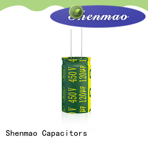 Shenmao radial lead capacitor marketing for temperature compensation