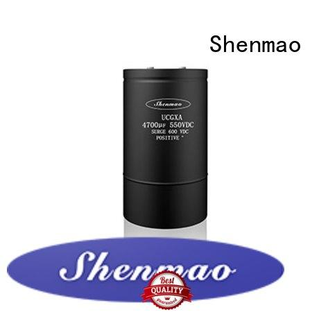 Shenmao energy-saving aluminum capacitor manufacturers vendor for timing