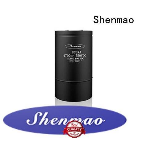 Shenmao energy-saving aluminum capacitor manufacturers vendor for timing