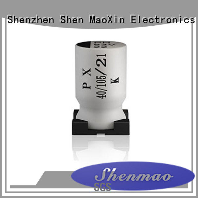 Shenmao high quality smd electrolytic capacitor supplier for temperature compensation