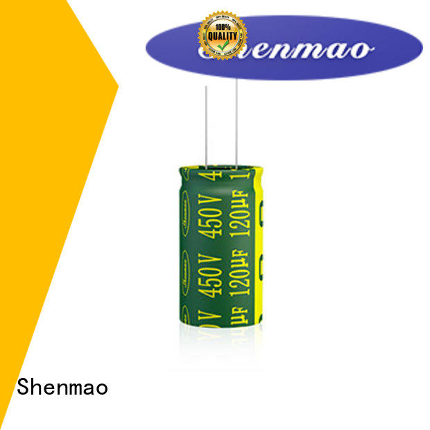 Shenmao radial lead capacitor marketing for timing