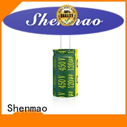 Shenmao radial capacitor vendor for energy storage
