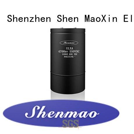 Shenmao stable Screw Terminal Aluminum Electrolytic Capacitor owner for rectification