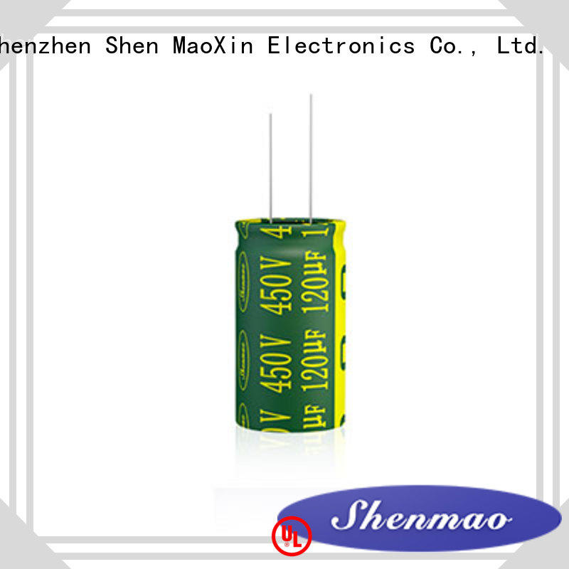Shenmao 10uf 450v radial electrolytic capacitor marketing for rectification