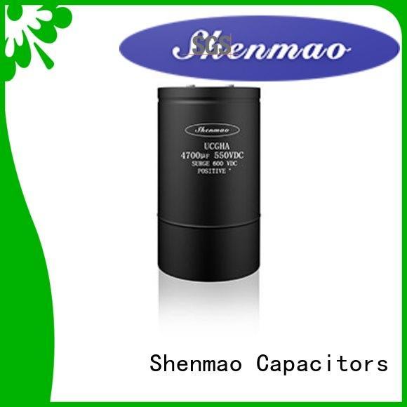 Shenmao competitive price large electrolytic capacitor marketing for energy storage