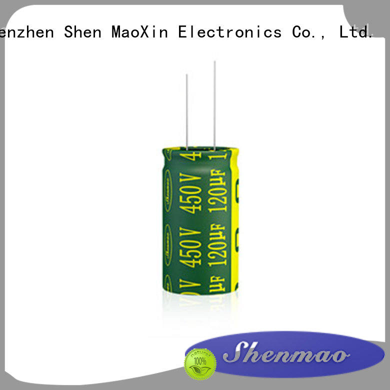 Shenmao radial capacitors overseas market for coupling