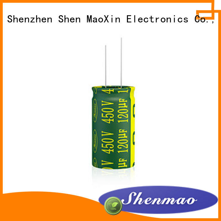 Shenmao 10uf 450v radial electrolytic capacitor vendor for tuning