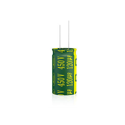 High ripple current electrolytic capacitor polarity LGC Series