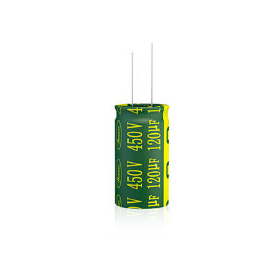 Withstand high temperature radial capacitors LGE Series