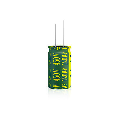 High frequency radial electrolytic capacitor RLF Series