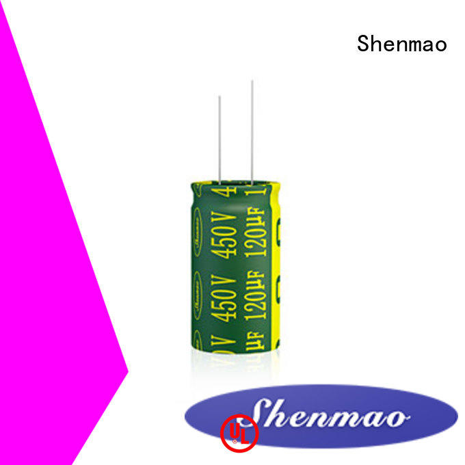 Shenmao radial type capacitor overseas market for filter