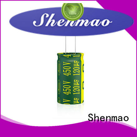 Shenmao good to use 10uf 450v radial electrolytic capacitor vendor for tuning