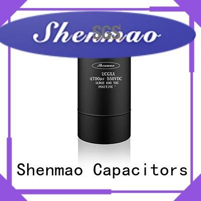 Shenmao high quality aluminum capacitor manufacturers overseas market for energy storage