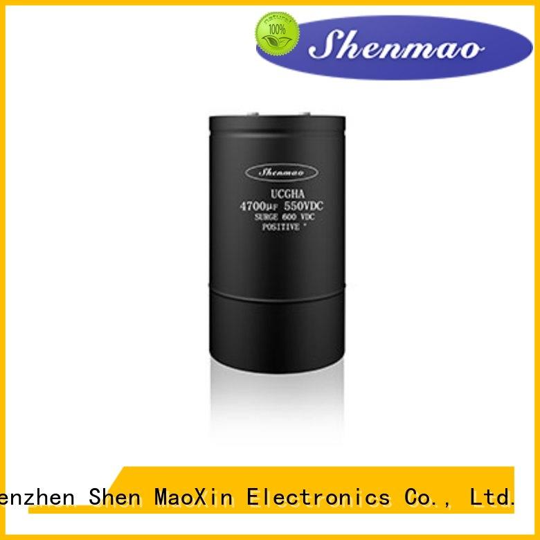 Shenmao screw capacitor bulk production for timing