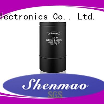 Shenmao high quality 100uf 50v electrolytic capacitor for rectification