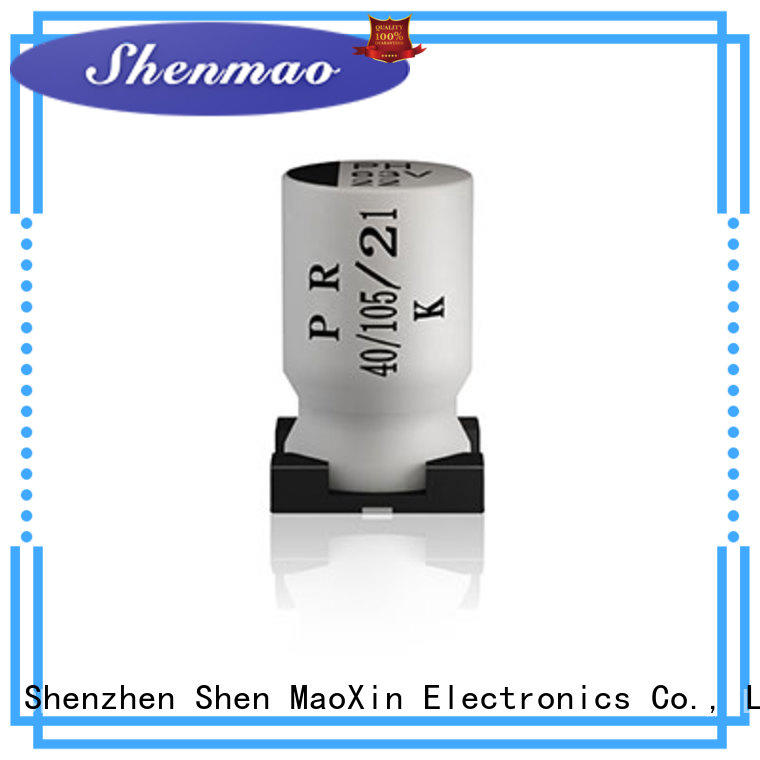 Shenmao good to use 100uf smd capacitor marketing for filter