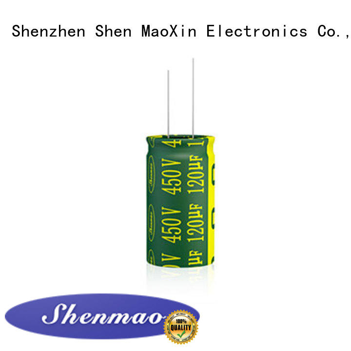 Shenmao easy to use radial capacitor marketing for coupling