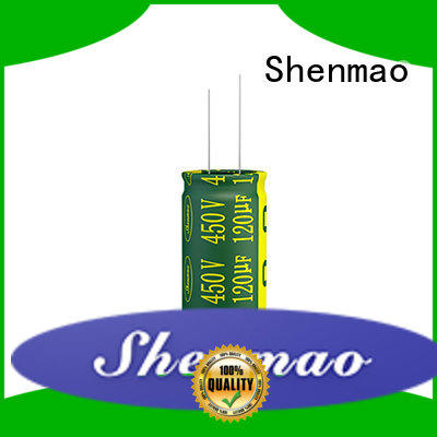 10uf 450v radial electrolytic capacitor for filter Shenmao