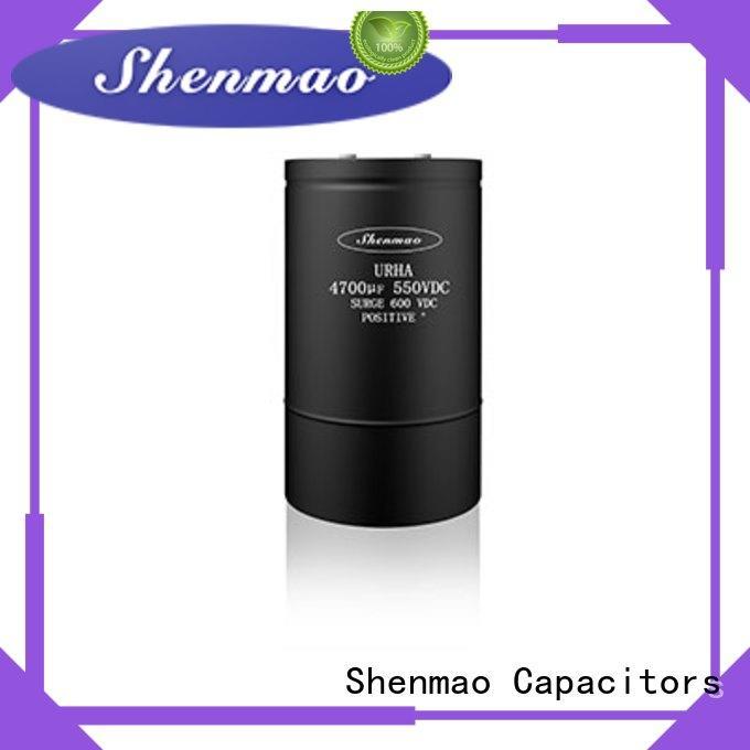 Shenmao screw capacitor oem service for temperature compensation