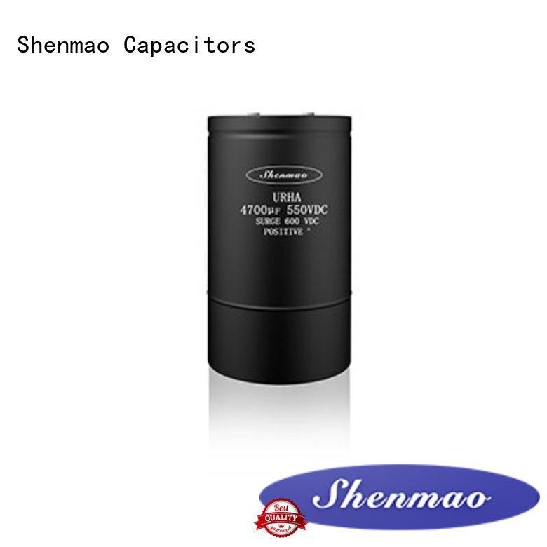 Shenmao screw terminal capacitor bulk production for tuning