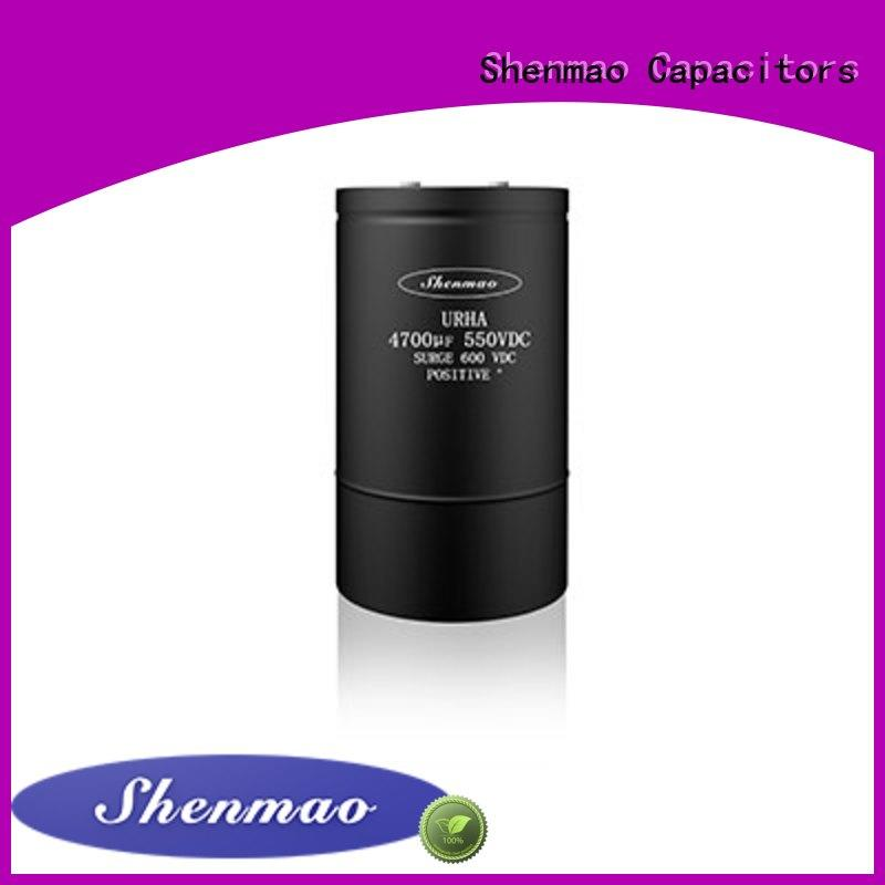 Shenmao polymer electrolytic capacitor bulk production for temperature compensation