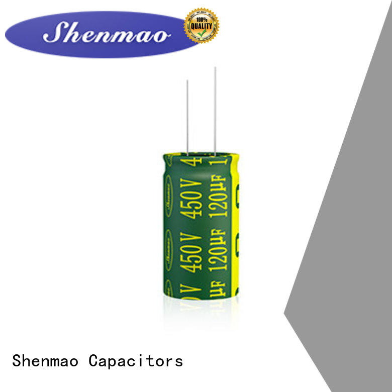 Shenmao satety best electrolytic capacitor manufacturers supplier for filter