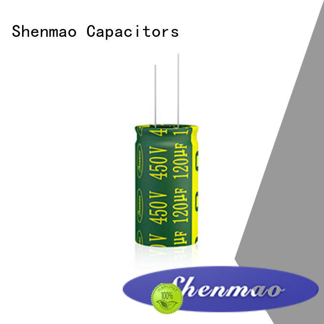 radial lead capacitor bulk production for timing