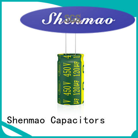 Shenmao good to use radial electrolytic capacitor vendor for timing