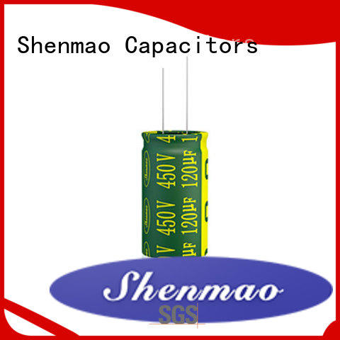 Shenmao high quality radial capacitors supplier for timing