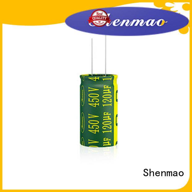 Shenmao high quality 470uf 250v radial electrolytic capacitor vendor for temperature compensation