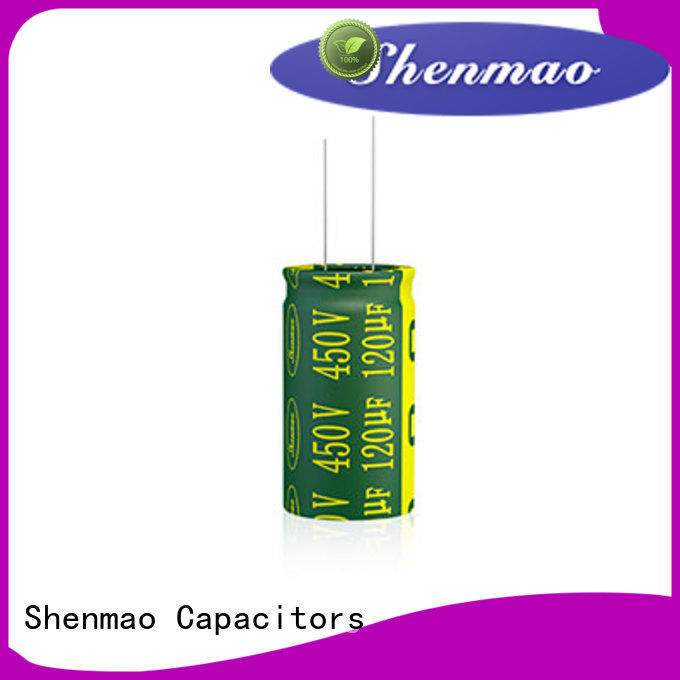 Shenmao durable best electrolytic capacitor manufacturers overseas market for DC blocking