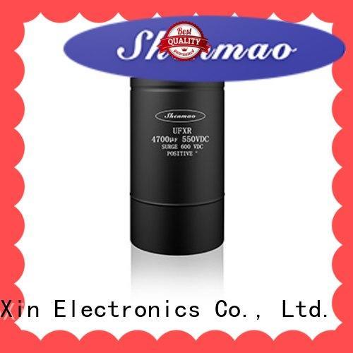 Shenmao screw capacitor oem service for DC blocking