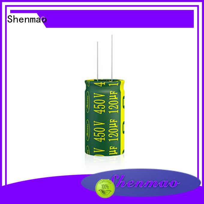 10uf 450v radial electrolytic capacitor for rectification Shenmao