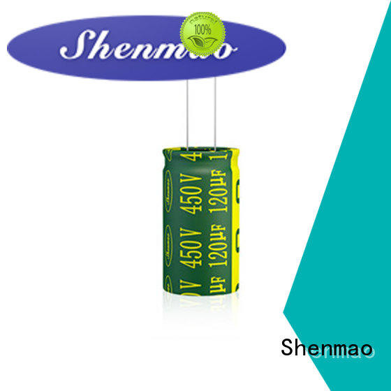 Shenmao quality-reliable Radial Aluminum Electrolytic Capacitor marketing for coupling