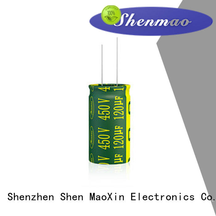 Shenmao quality-reliable 1000uf 450v radial electrolytic capacitors bulk production for timing
