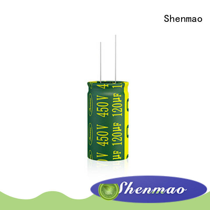durable 10uf 450v radial electrolytic capacitor supplier for rectification