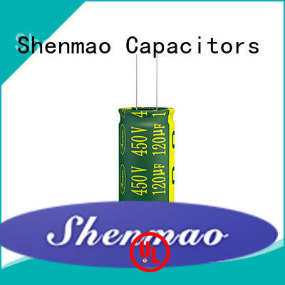 durable 10uf 450v radial electrolytic capacitor bulk production for temperature compensation