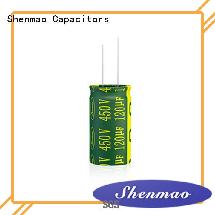 Shenmao 1000uf 25v radial electrolytic capacitor marketing for energy storage