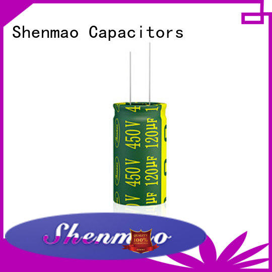 Shenmao high quality radial capacitor owner for coupling