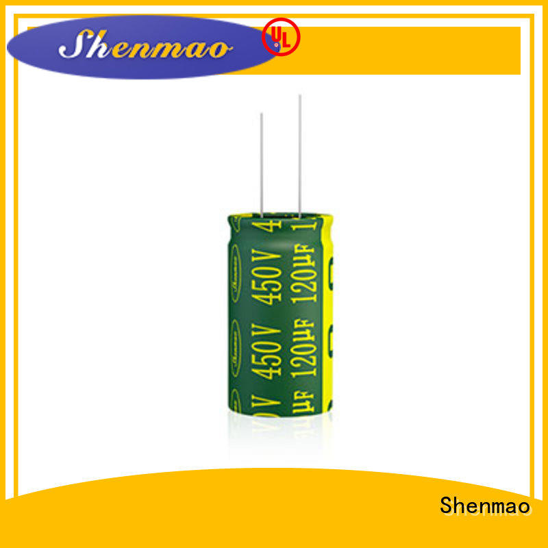 Shenmao durable radial lead capacitor overseas market for filter