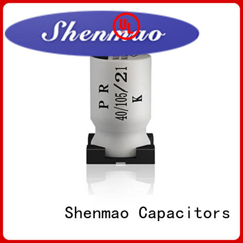Shenmao smd capacitor manufacturers supplier for timing