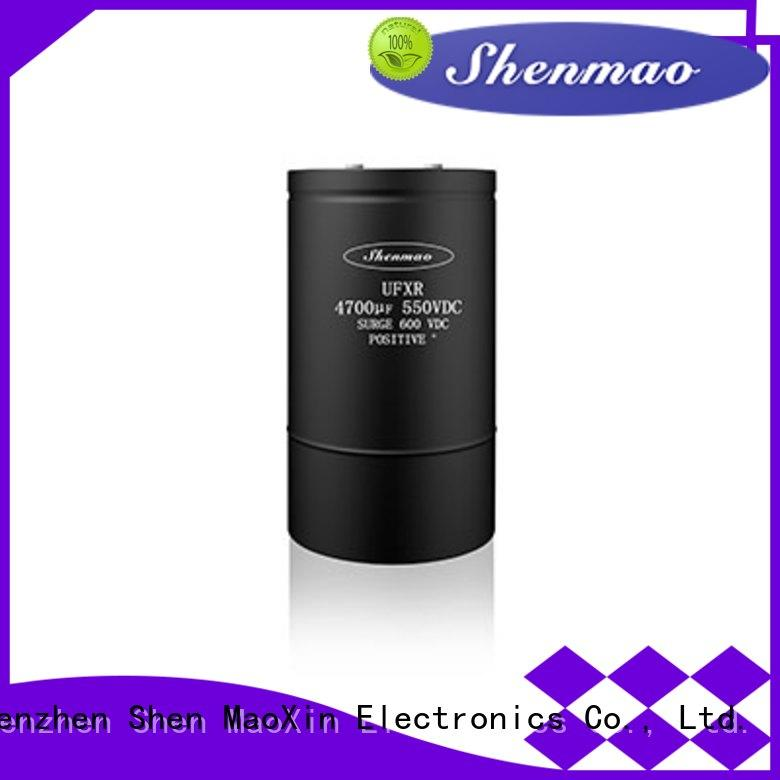 Shenmao screw capacitor marketing for rectification