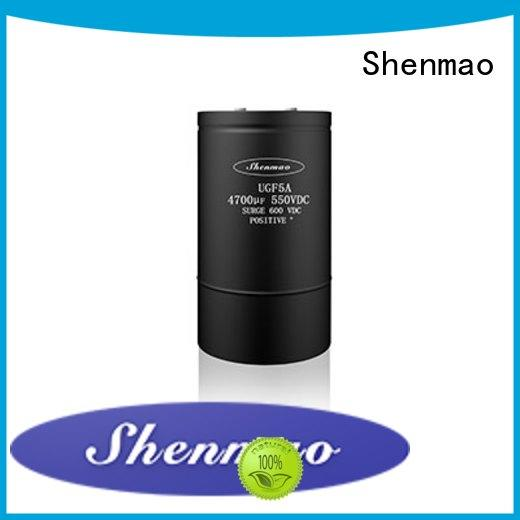Shenmao competitive price polymer electrolytic capacitor bulk production for temperature compensation
