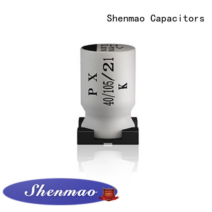 Shenmao smd aluminum electrolytic capacitor marketing for rectification