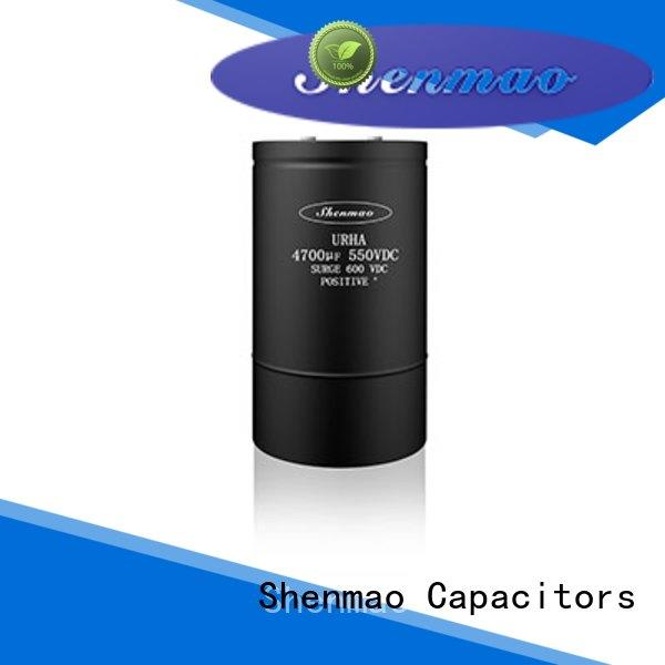 good to use screw terminal electrolytic capacitor overseas market for DC blocking