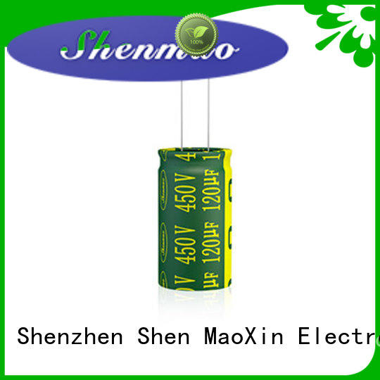Shenmao durable 470uf 250v radial electrolytic capacitor marketing for DC blocking