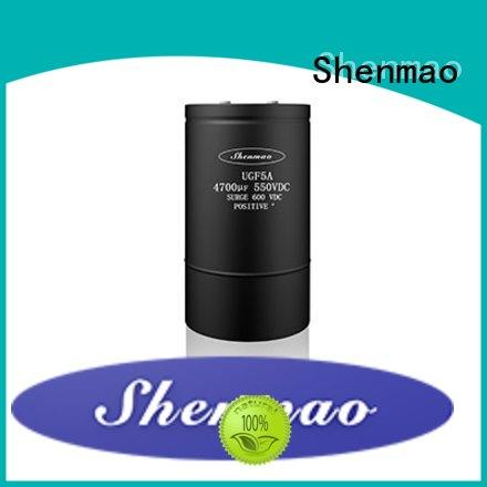 Shenmao 600v electrolytic capacitors marketing for tuning