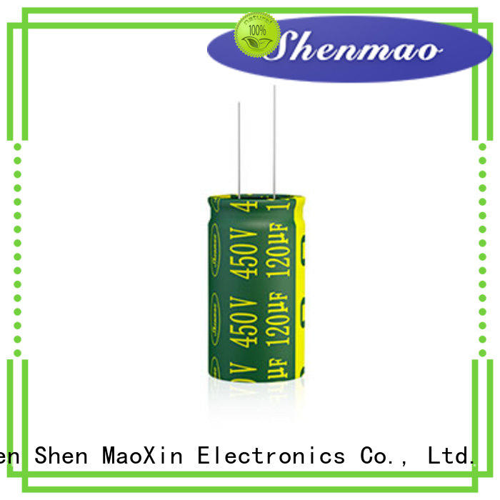 Shenmao radial can capacitor supplier for coupling